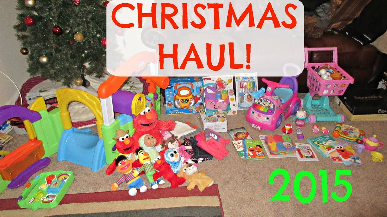 TODDLER CHRISTMAS HAUL 2015