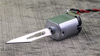 3 Awesome Life Hacks with DC Motor