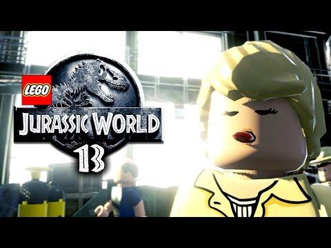 LEGO JURASSIC WORLD - Dinos ÄRGERT man nicht!