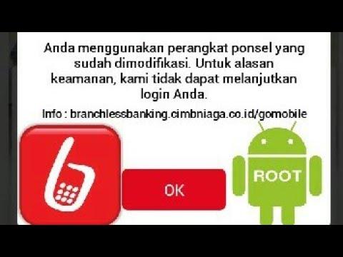 Cara Mengatasi Go-Mobile tidak bisa di acses karena Hp di Root