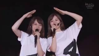 乃木坂46 #秋元真夏 #松村沙友理 結局勝つのはまっつんでした.