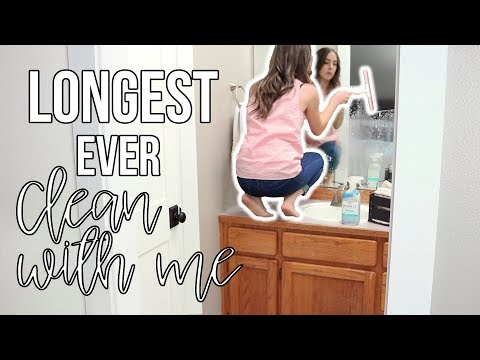All Day Clean with Me Routine | ULTIMATE CLEANING MOTIVATION with music!
