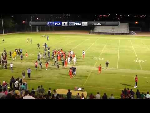 Phoenix College Championship Post-Game Fight