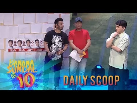 Banana Sundae Daily Scoop: Election Campaign