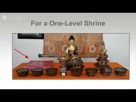How to Set Up Your Personal Tibetan Buddhist Shrine