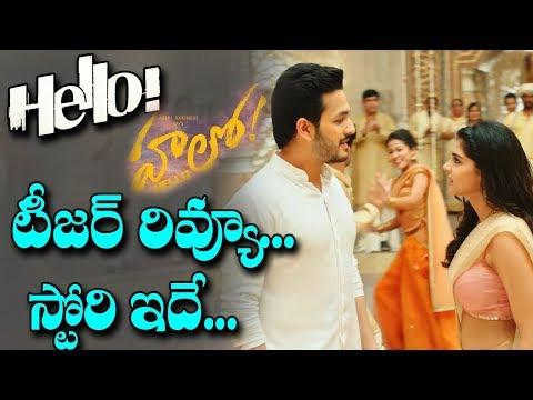 HELLO Movie Teaser Review | #HELLOMovieTeaser | Akhil Akkineni,Nagarjuna । Movie Story