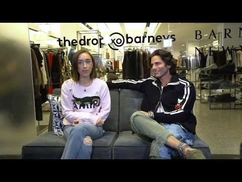 Greg Lauren Live at thedrop@barneys 102817