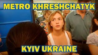 Travel with Me to KIEV UKRAINE—Metro Station Khreshchatyk