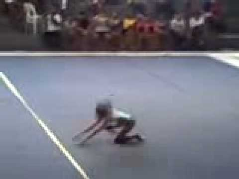 philippine olympic gymnastics 2008( PRECIOUS PAMA FLOOR EXERCISE GOLD)