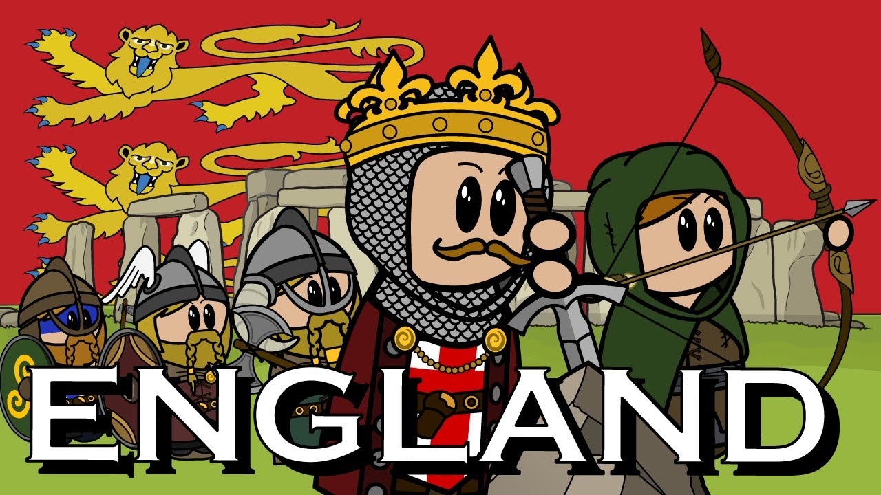 Download The Animated History of England   Part 1