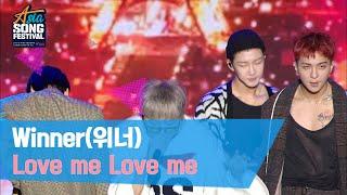 Winner(위너) 방송용 센터CAM - 'Intro + Love me Love me'[2019 Asia S…