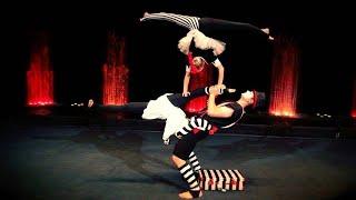 Acrobatics Trio Equilibrium Hand to Hand Circus Act Variety Performance Entertainment
