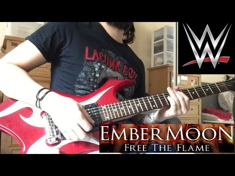 """Ember Moon """"Free The Flame"""" WWE NXT theme guitar cover"""