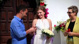 Свадьба в Греции в стиле богов (Greece,Greek Wedding)