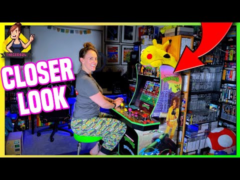 A closer inspection! Am I enjoying the TMNT Arcade1up cab? from TheGebs24