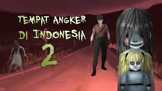 Indonesian Haunted Place 2,  Illustrated & Animated