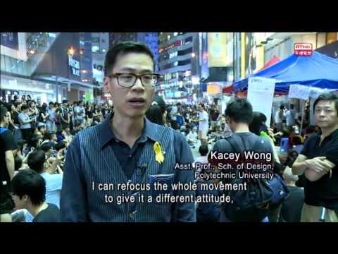 Arts and Creativity in Umbrella Movement@HK, Part I (2014/10/07)