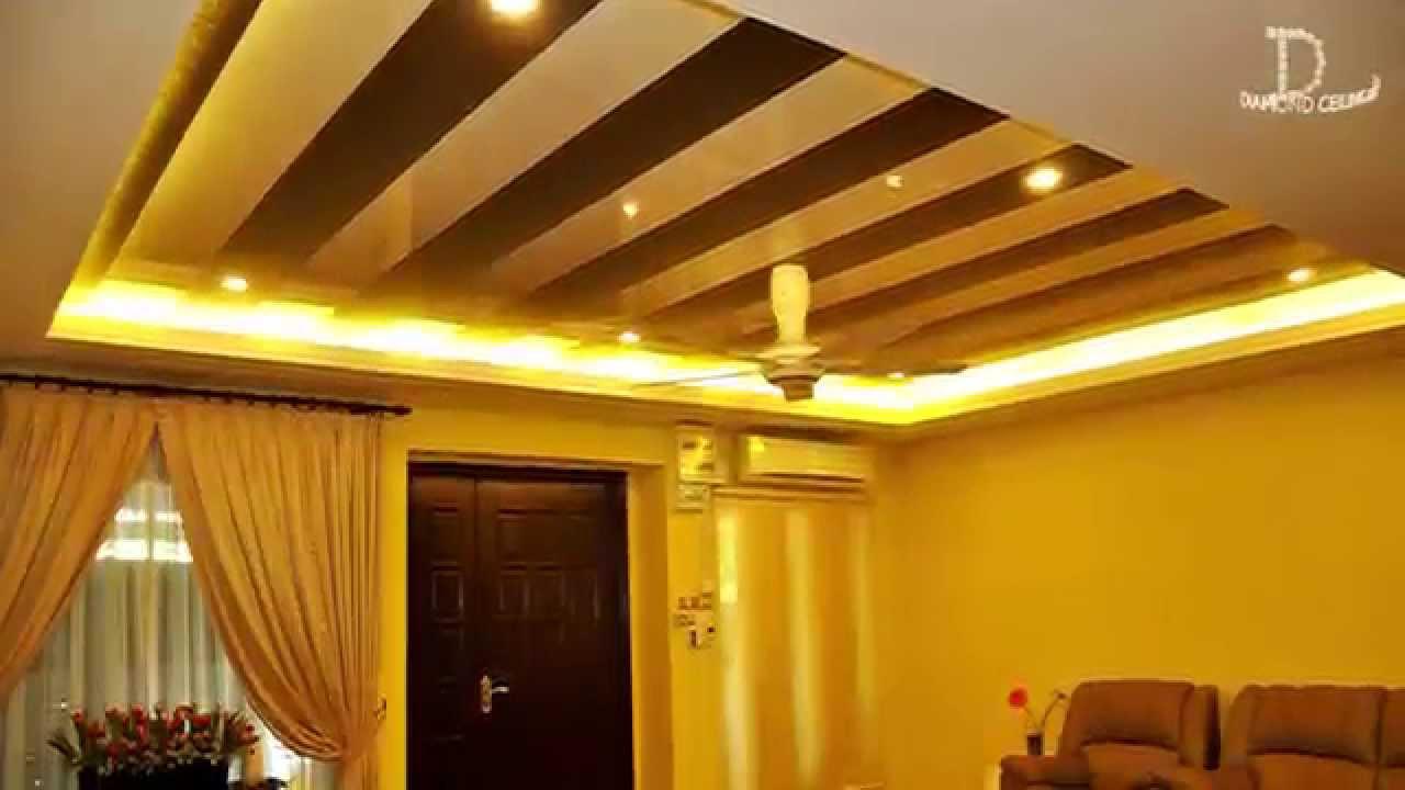 Waterproof  NonToxic Ceiling  Diamond Ceiling  YouTube