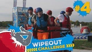 DRAAIENDE YOUTUBERS?! - WIPEOUT CHALLENGE #4