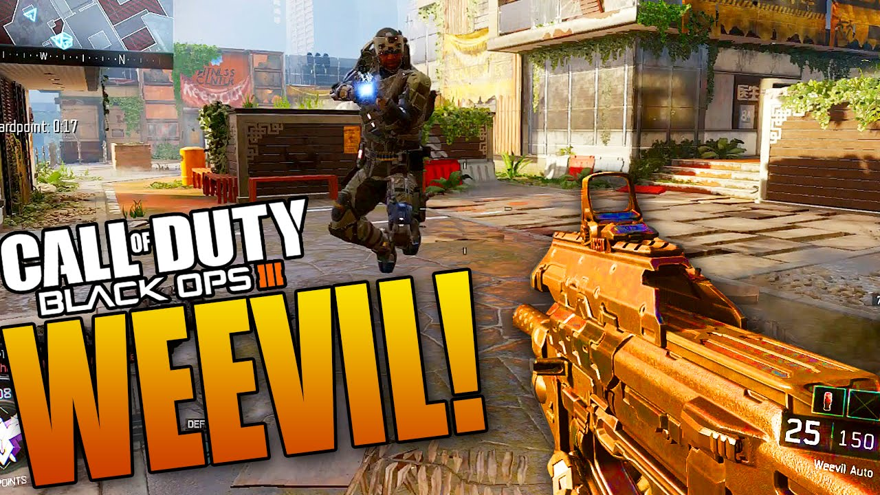 The P90 Is Back Black Ops 3 Weevil Smg Multiplayer Gameplay