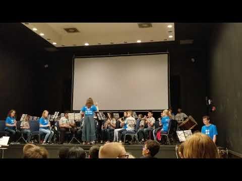 2018 Elgin Academy Spring Band concert