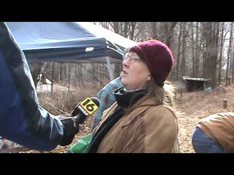 WNEP TV interview at the Holleran Farm, 2/5/16