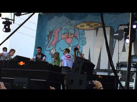 Trippy Turtle b2b Cashmere Cat with A-trak & Diplo - Mad Decent Block Party Los Angeles (LA)
