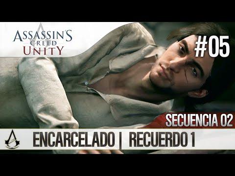 Assassin's Creed Unity   Guía en Español Walkthrough   Secuencia 2   Encarcelado  1  100%