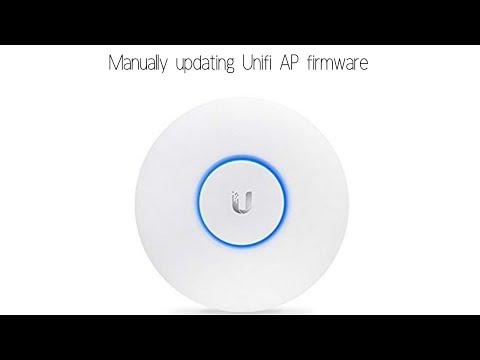 Ubiquiti Access Point Firmware Update. Manual Update