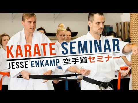 KARATE SEMINAR TOUR   Power, Okinawa Hojo Undo & Tonfa — Jesse Enkamp