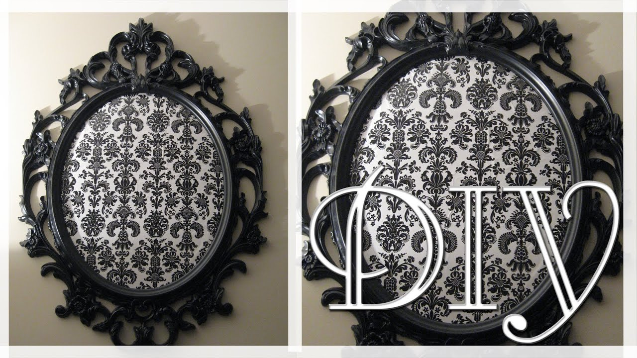 Diy ikea ung drill mirror into art the mirror seen on for Miroir ung drill