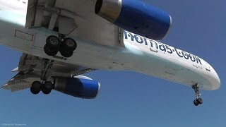 757 Awesomeness at Skiathos, the Second St Maarten! Jet blasts and low landings!