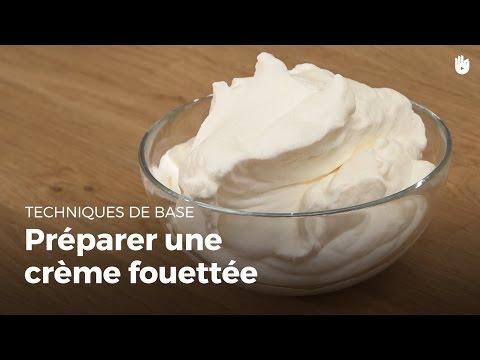 préparer-une-crème-fouettée-|-matières-grasses-en-cuisine