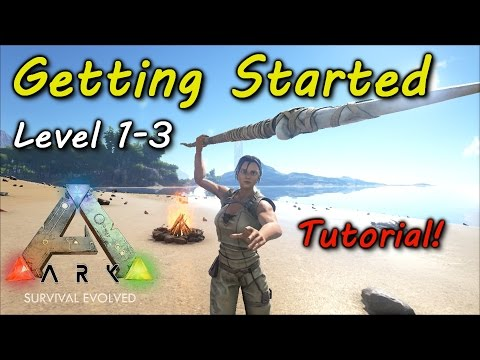 ark survival evolved how to get started