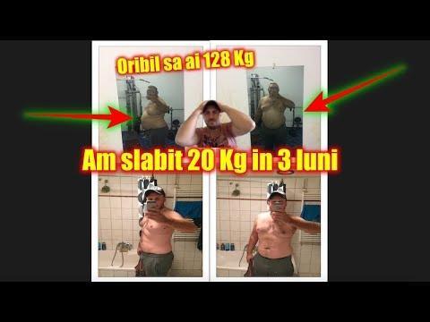 dieta de slabit 20 kg in 3 luni