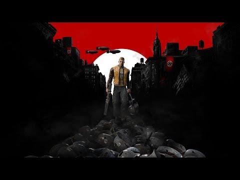 Прохождение Wolfenstein 2: The New Colossus (с вебкой) — Часть 1: Немецкая подлодка / Воссоединение