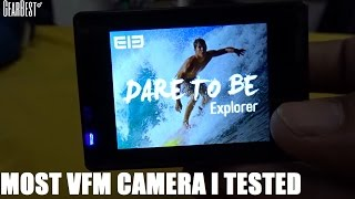 Elephone ELE Explorer 4K Action Camera Unboxing | Review | Samples