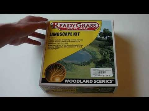 Woodland Scenics Landscaping Kit Product Overview