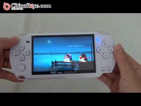 4.3 inch LCD 4GB MP5/MP4 Player + Camera White