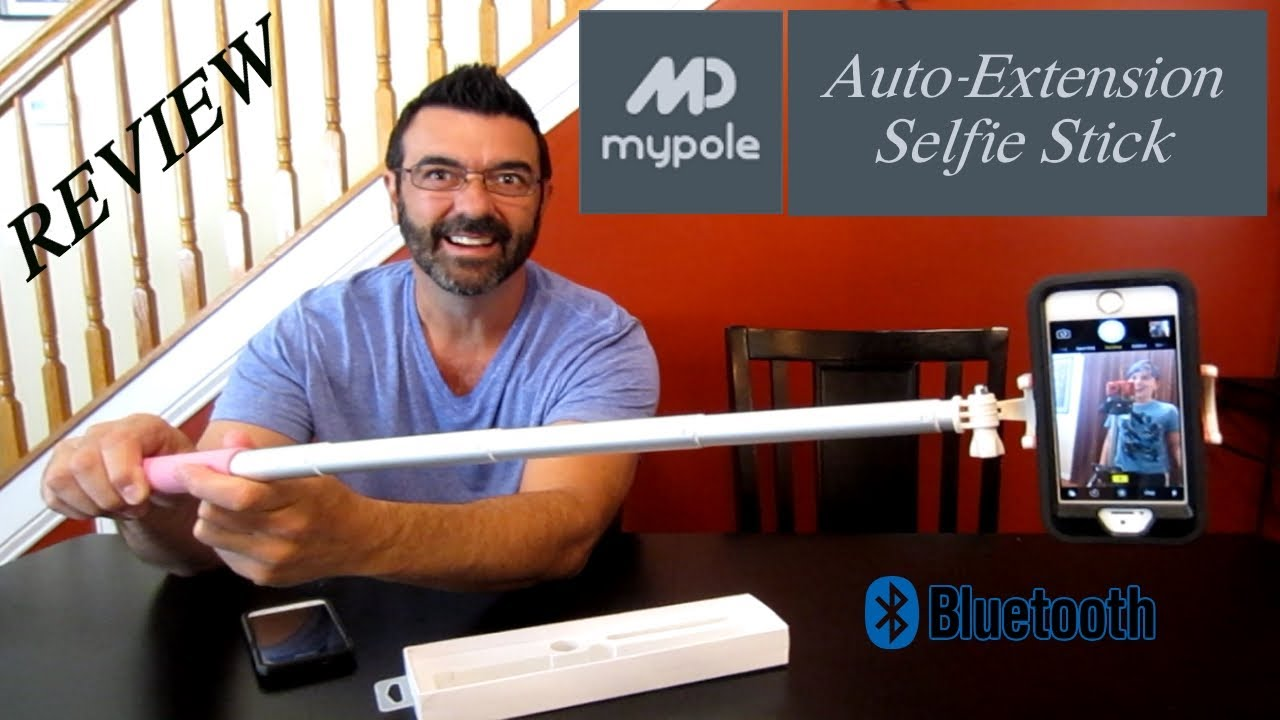 Mp Mypole Auto Extension Selfie Stick Review This Thing
