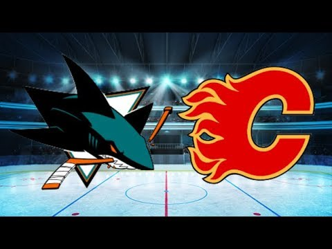 San Jose Sharks vs Calgary Flames (3-2 Penalties) All goals and Highlights!! [Extended]