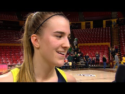 Sabrina Ionescu after No. 8 Oregon clinches at least a share of Pac-12 title