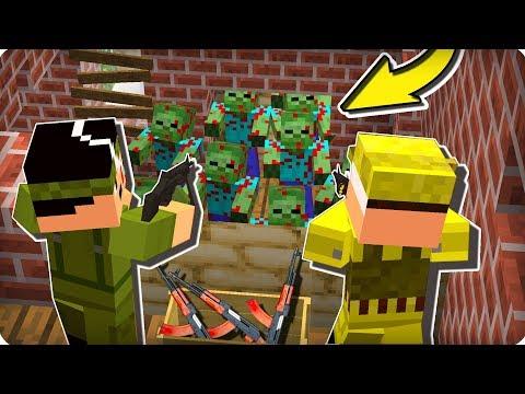 Они держались до последнего! [ЧАСТЬ 60] Зомби апокалипсис в майнкрафт! - (Minecraft - Сериал)