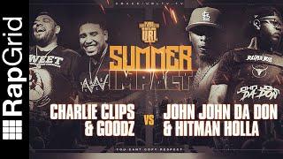 HITMAN HOLLA/ JOHN JOHN DA DON VS CHARLIE CLIPS/ GOODZ - PREDICTION | re:Drect Podcast