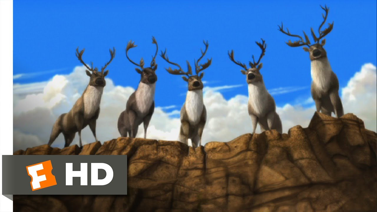 Download Alpha and Omega (2/12) Movie CLIP - The Caribou Are Laughing At Us (2010) HD