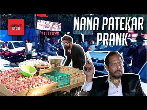 NANA PATEKAR FUNNY DIALOGUES IN PUBLIC | PRANKS IN INDIA 2018, BOLLYWOOD CELEB PRANKS | AAPLA MANUS