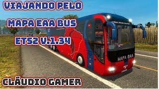 Gambar cover EAA BUS 10 ANOS VAMOS NESSA ETS2   v.1.34  #2K ..TMJ GALERA