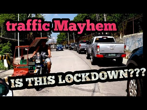 INSANE TRAFFIC / CHECKPOINT CHALLENGE / Bacolod City Philippines 2020