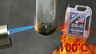 Liqui Moly 10W40 Mos2 Jak czysty jest olej silnikowy? Test powyżej 100°C