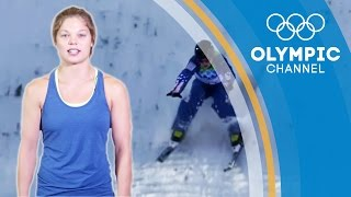 How to Work your Leg Adductors like a Freestyle Skier | Olympians' Tips